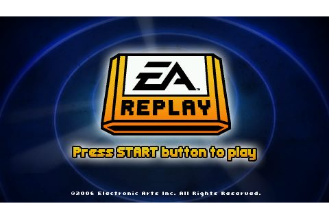EA Replay (2006) by Electronic Arts Canada PSP game