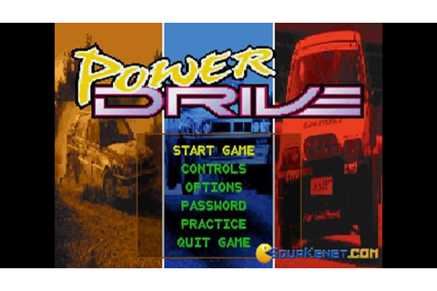 Power Drive gameplay (PC Game, 1994) - YouTube