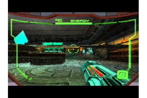 Metroid Prime Hunters DS gameplay - YouTube