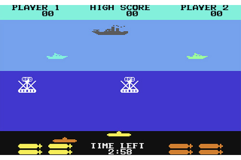 The Games We Played – Sea Wolf (C64) | OhGizmo!