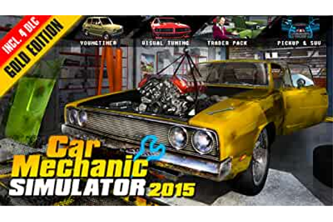 Amazon.com: Car Mechanic Simulator 2015 GOLD Edition ...
