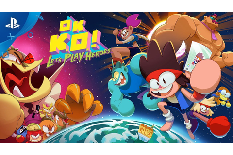OK. K.O.! Let's Play Heroes! - Gameplay Trailer - Cartoon ...