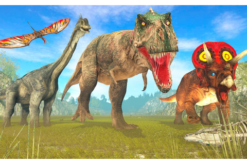 Dinosaur Games Simulator Dino Attack 3D for Android - APK ...