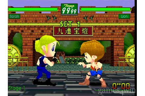 Virtua Fighter Kids Download on Games4Win