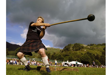 DECK THE HOLIDAY'S: HIGHLAND GAMES FROM SCOTLAND!!