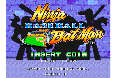 Ninja Baseball Bat Man (1993) Arcade game