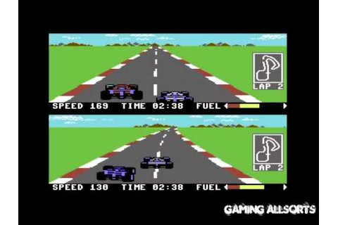 Pitstop II (Pitstop 2) Commodore 64 C64 CBM by Epyx - YouTube