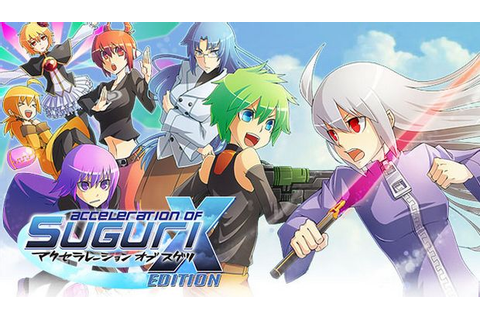 Acceleration of SUGURI X-Edition HD Free Download PC Games ...