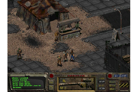 Ingame screenshot of Fallout 1 image - Mod DB
