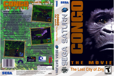CONGO The Movie: The Lost City of Zinj (Saturn) - The ...