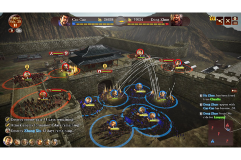 Romance of the Three Kingdoms XIII Review (PS4) | Push Square