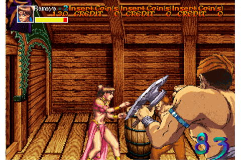 Arabian Fight (World) ROM