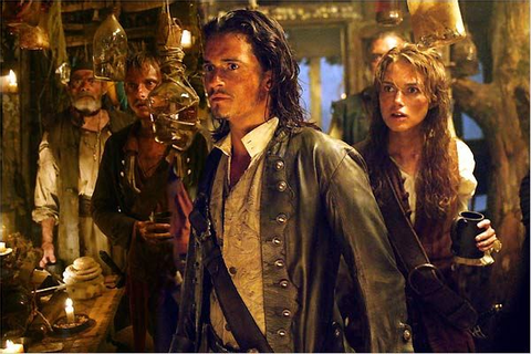 Photo de Keira Knightley dans le film Pirates des Caraïbes ...