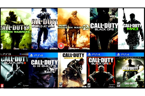All Call Of Duty Games List | Fandifavi.com