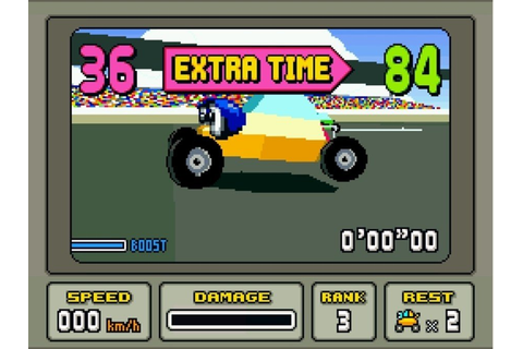 Stunt Race FX (SNES / Super Nintendo) Screenshots