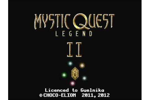 Mystic Quest Legend II - Title Screen - YouTube