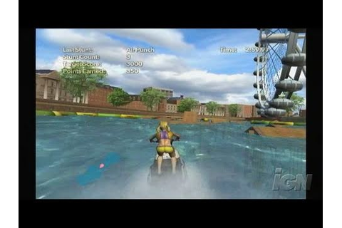 Kawasaki Jet Ski Nintendo Wii Gameplay - Jump! - YouTube