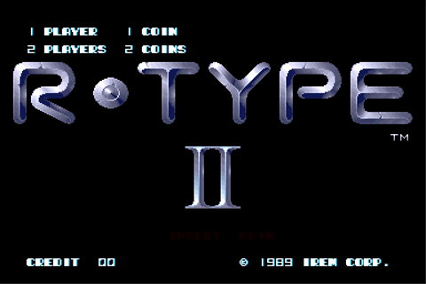 Play R-Type II Coin Op Arcade online | Play retro games ...