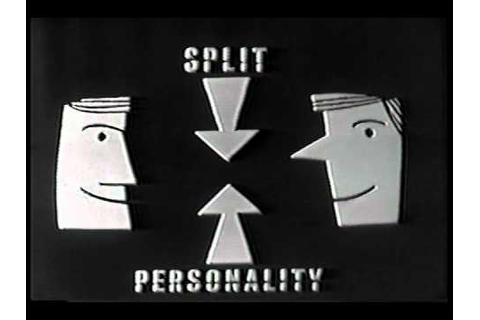 SPLIT PERSONALITY opening credits NBC game show - YouTube