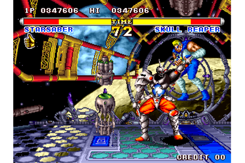 Ending for Superior Soldiers-Starsaber(Arcade)