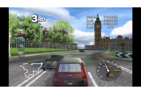Classic British Motor Racing - Wii Track 5 (Westminster ...