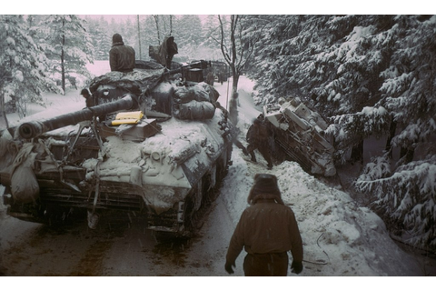 Vivid new Battle of the Bulge photos offer never-before ...
