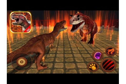 T REX GAMES FOR KIDS: Tyrannosaurus Simulator #1 |Newbie ...