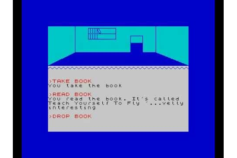 Urban Upstart / ZX Spectrum Text Adventure - YouTube