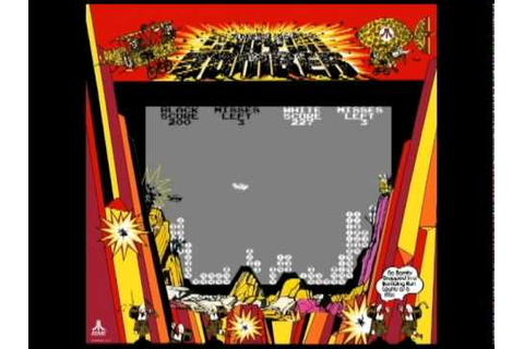 Coin-Op Games 1977 - Canyon Bomber (Atari) [MAME] - YouTube