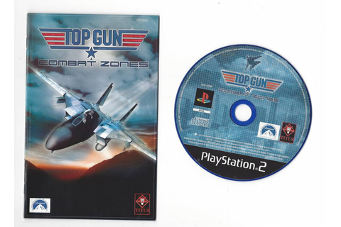 Top Gun Combat Zones for Playstation 2 PS2 - Passion for ...
