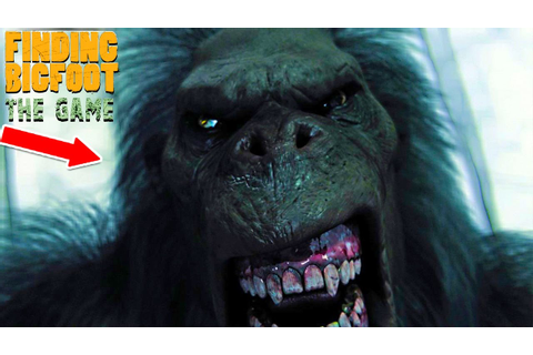 "FINDING BIGFOOT THE GAME! ""NEW Scariest Game!!!"" (Scary ..."