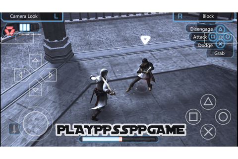 Assassin's Creed BloodLines PSP ISO PPSSPP For Android/iOS