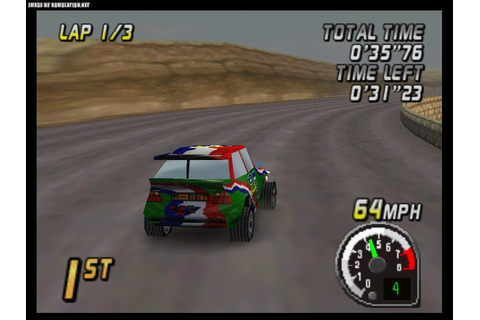 Top Gear Rally (USA) ROM