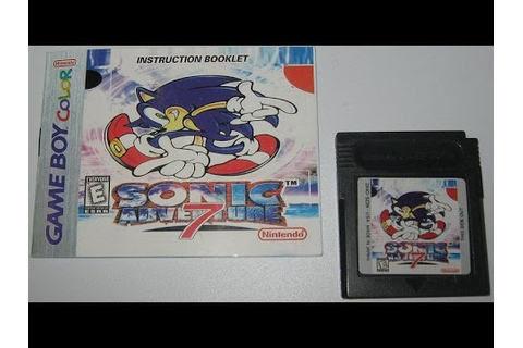 Let's play Sonic Adventure 7 on Game Boy Color ( Pirated ...