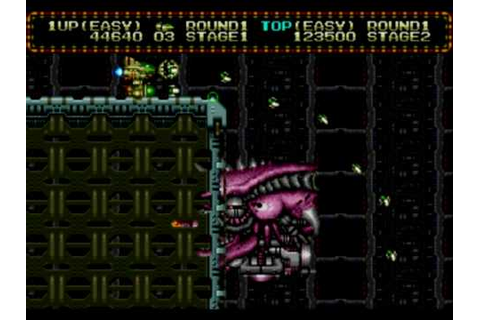 Zero Wing - Intro & Gameplay - Megadrive / Genesis (1991 ...