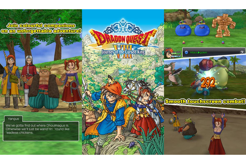 Dragon Quest VIII Finally Gets Released In The App Store ...