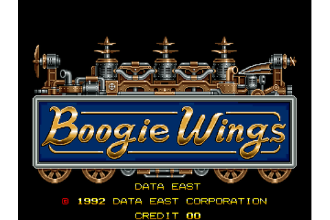 Boogie Wings (1992) Arcade game