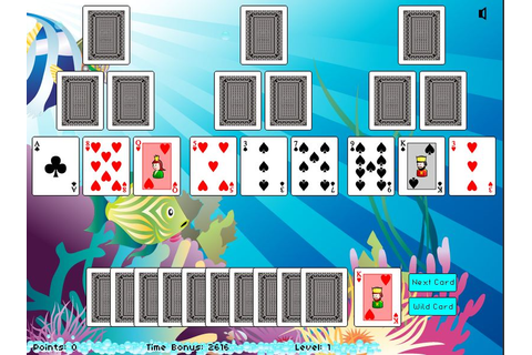 Undersea Adventure Solitaire