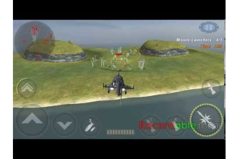 Gunship Battle : AIR WOLF - Missile Launchers - YouTube