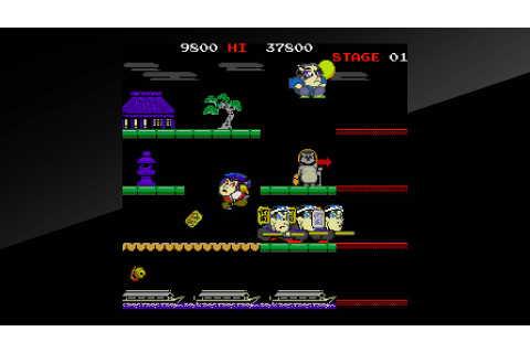 Arcade Archives Mr.GOEMON Review Screenshot 2 | Bonus Stage