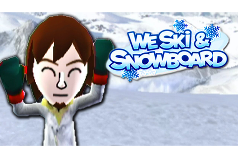 GUILTY PLEASURE! - We Ski and Snowboard (Wii) - YouTube