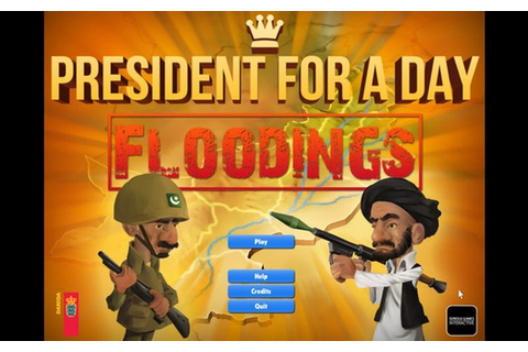 President for a Day - Floodings on Steam - PC Game | HRK