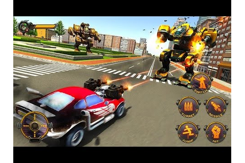 Robot Car War Transform Fight (By Tech 3D Games Studios ...