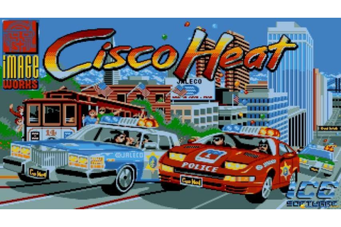 Cisco Heat gameplay (PC Game, 1991) - YouTube