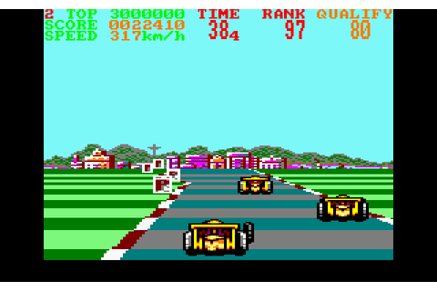 Continental Circus (1989) by Teque Amstrad CPC game