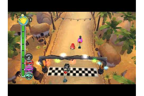 (PSP)TNT Racers Gameplay - YouTube
