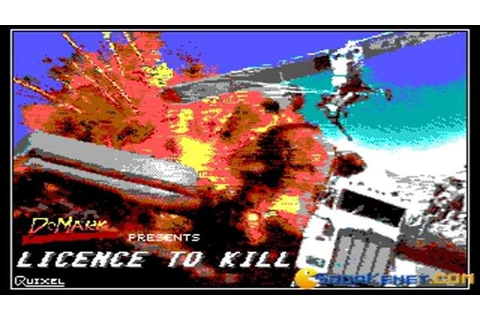 007 - License to Kill gameplay (PC Game, 1989) - YouTube