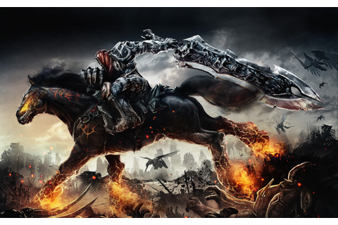 fantasy Art, Sword, Demon, Fire, Hell, Apocalyptic ...