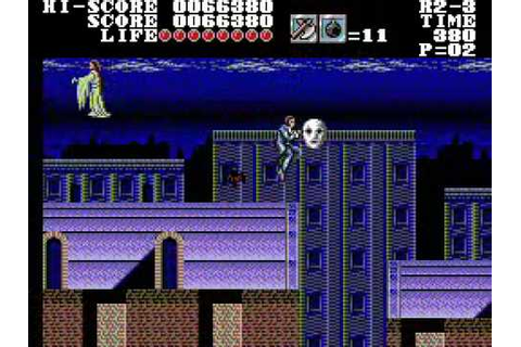 Master of Darkness - Sega Master System Full Game 1 of 2 ...