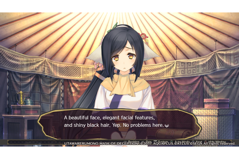 Review: Utawarerumono: Mask of Deception – Gamer Escape ...